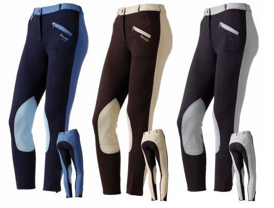 Pantaloni Daslo donna bicolore